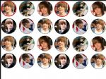 24 x Mixed Justin Bieber wafer Cake toppers Tops beiber
